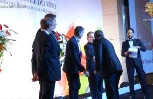 """Oscar del Vino 2012 - Premio Migliore Innovazione del Vino a """"Otello Nero di Lambrusco 2010"""" di Cantine Ceci spa."""