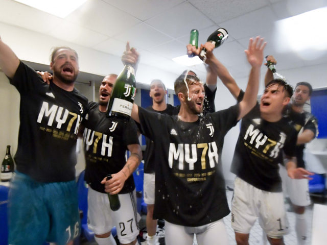 La Juventus festeggia con Ferrari Trentodoc il settimo scudetto consecutivo